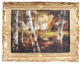 DOLLHOUSE MINIATURE PICTURE AND FRAME  #PF1113 - $8.50