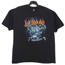 Def Leppard Concert Tour 2016 T-Shirt w/ Styx Tesla Double Sided Hair Me... - $21.63