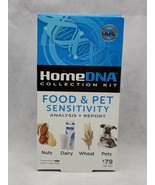 Home DNA food & pet sensitivity Test Collection Kit Analysis Report  NEW - $13.00