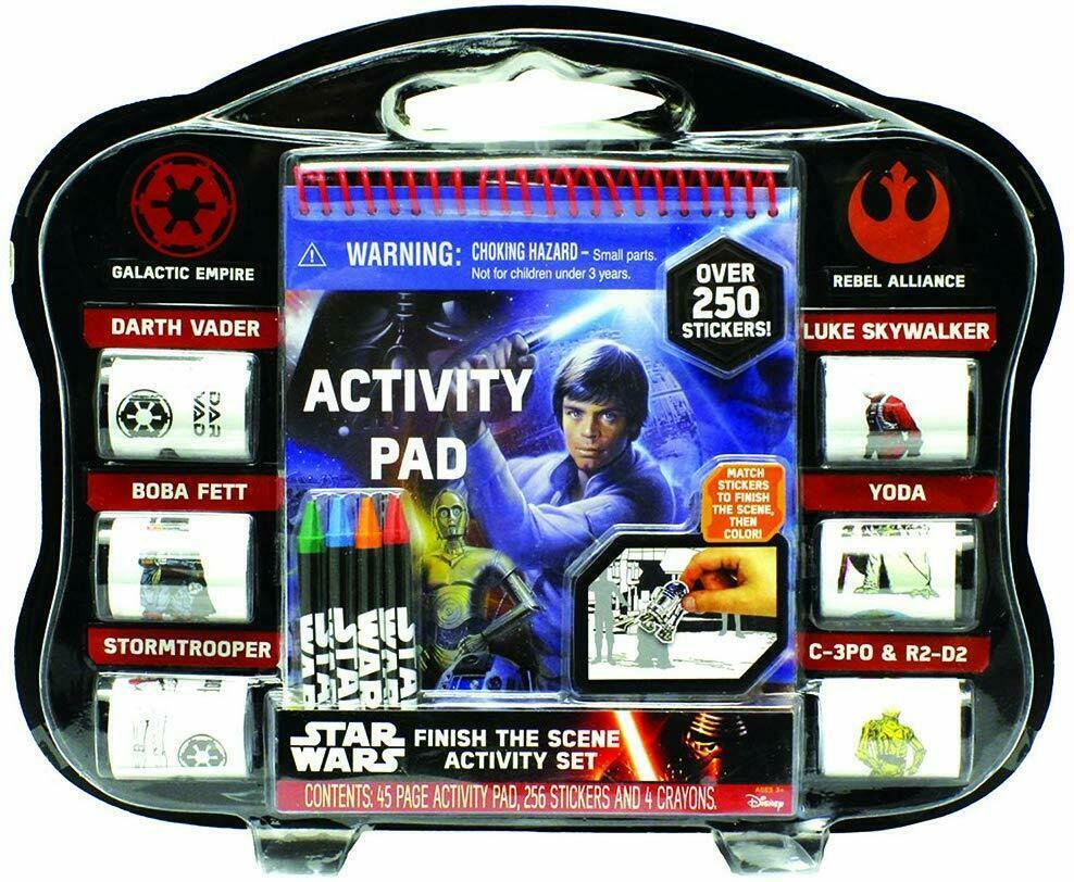 Disney Star Wars Finish The Scene Activity Pad 250 Stickers 4 Crayons - $15.99