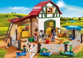 Brandnew PLAYMOBIL 5684 Pony Farm Playset - $37.39