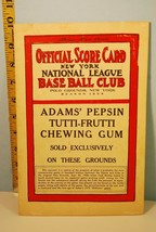 1973 Old Timers Game Chicago Cubs vs N.Y. Giants from 1908 Mets Souvenir - $39.11