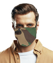 Reusable Washable Cloth Face Cover Camo Camouflage Mask Handmade in USA image 3