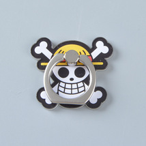 1 pcs One Piece Skull Metal Finger Ring Mobile Phone Smartphone Stand Ho... - $4.65