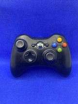 Official Microsoft Xbox 360 Wireless Controller Authentic Black - Tested... - $24.77