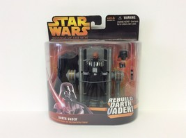 Star Wars REBUILD DARTH VADER w/ Operating Table Revenge of the Sith MOC... - $20.78