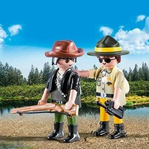 Playmobil Ranger & Hunter Building Set - $12.86