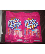 Pixy Stix Grape Maui Punch Cherry Orange 2-3.2 oz Bags Candy Filled Fun ... - $3.91