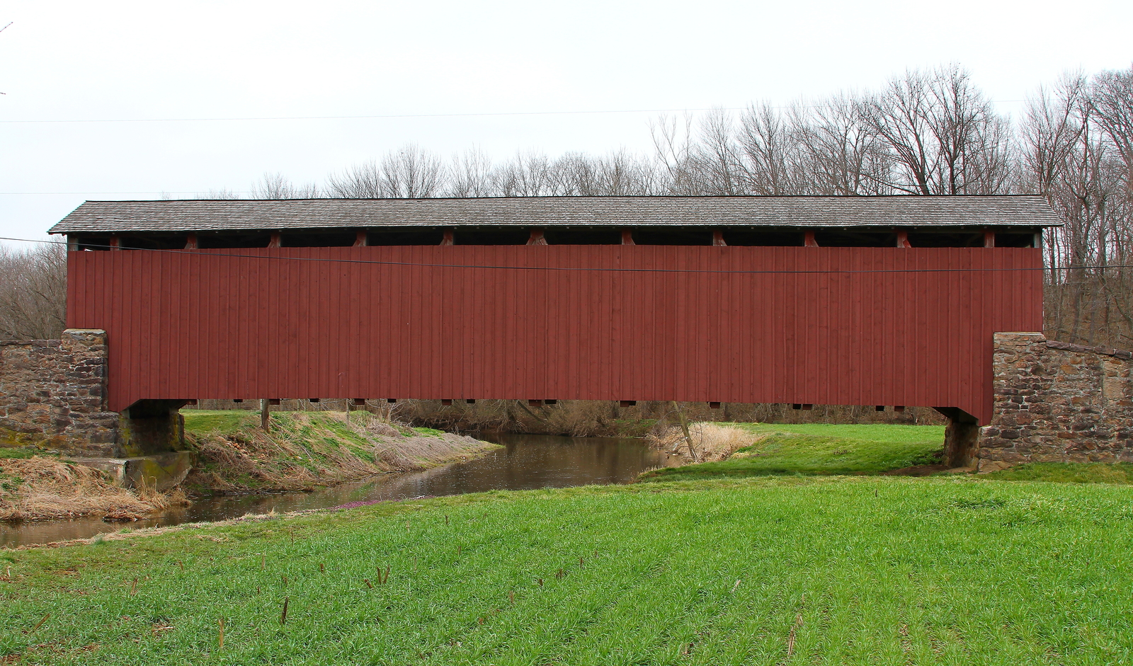 Primary image for Weaver's Mill Covered Bridge 13 x 19 Unmatted Photograph