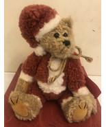 Boyds Bears Retired Santa Bear Elton Elfberg - $14.03