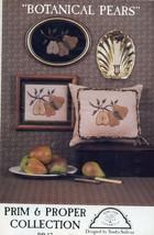 Botanical Pears Homespun Elegance #PP-17 Cross Stitch PATTERN Leaflet NEW - $3.57