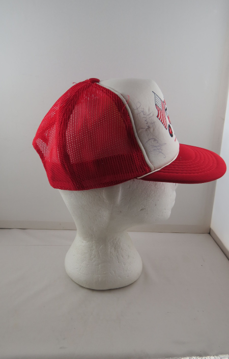 Memorial Cup Hat (VTG) - 1983 Portland Oregon - Signed - Adult Snapback