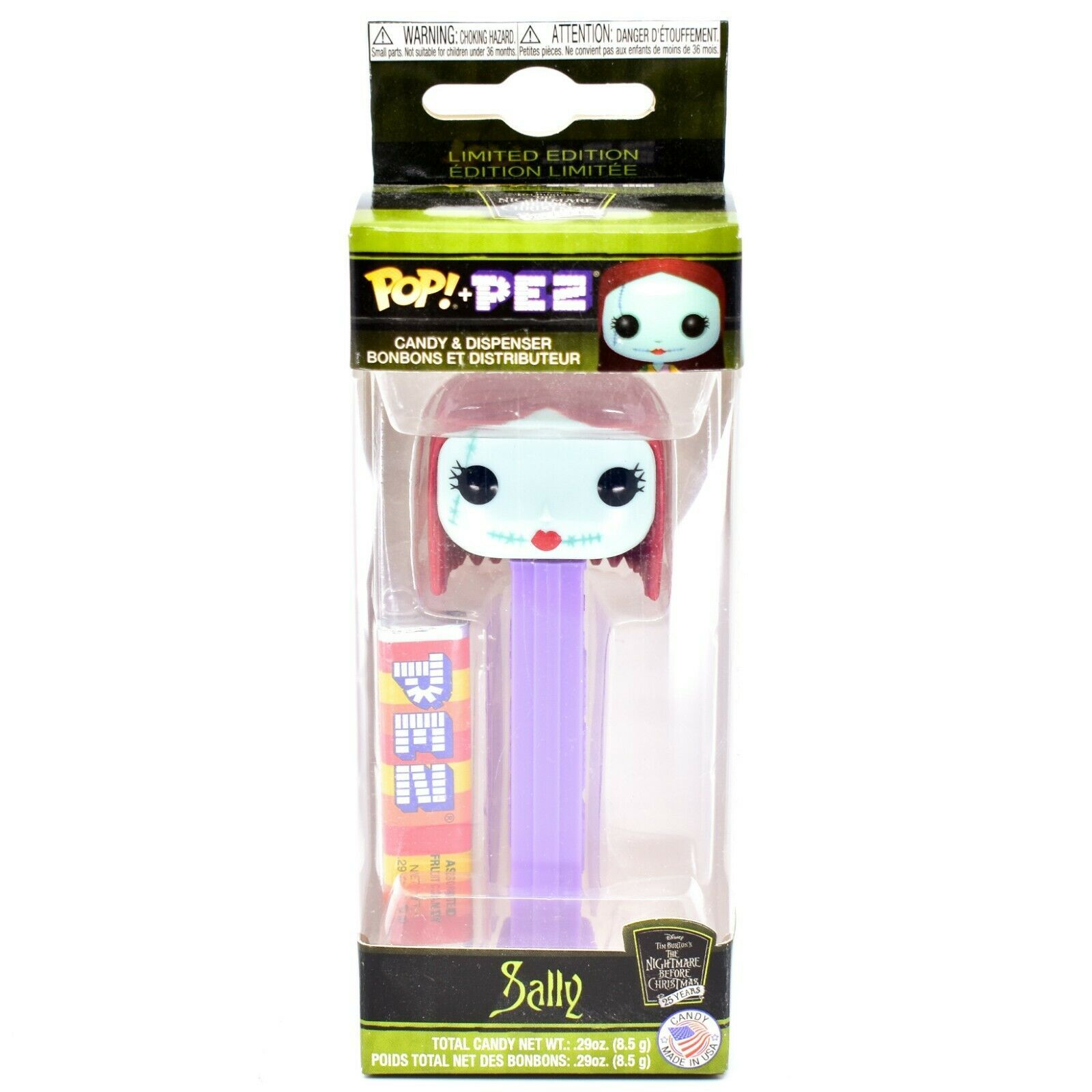 Funko Pop! Pez Limited Edition Sally Nightmare Before Christmas 25 Years
