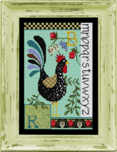 Rooster Sampler Kit cross stitch kit Colonial Needle  - $36.00