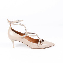 Valentino Strappy Leather Pointed Pumps SZ 41 - $305.00
