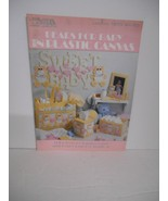 "Vintage 1990~Leisure Arts ""Bears for Baby"" Plastic Canvas~Leaflet #1273 - $7.95"