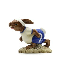 Royal Doulton England BUNNYKINS Porcelain Figurine Jogging Bunnykins DB 22 - $23.23