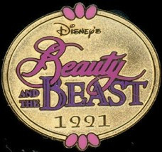 Disney Beauty & The Beast Marquee 1991 Cast Lanyard Series Pin - $14.05
