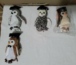 Ty Beanie Babies 4 lot Owls - $35.00