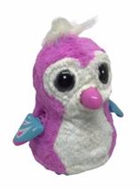 Hatchimal Interactive Teal Pink White Owl Big Eyes Lights Spin Masters WORK Toy - $19.79