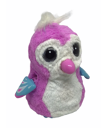 Hatchimal Interactive Teal Pink White Owl Big Eyes Lights Spin Masters W... - $19.79