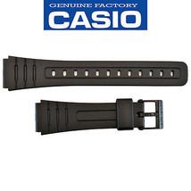 Genuine  Watch Band Casio 18mm Black StrapF-105W F-91W F-93W F-94WA F-10... - $13.45