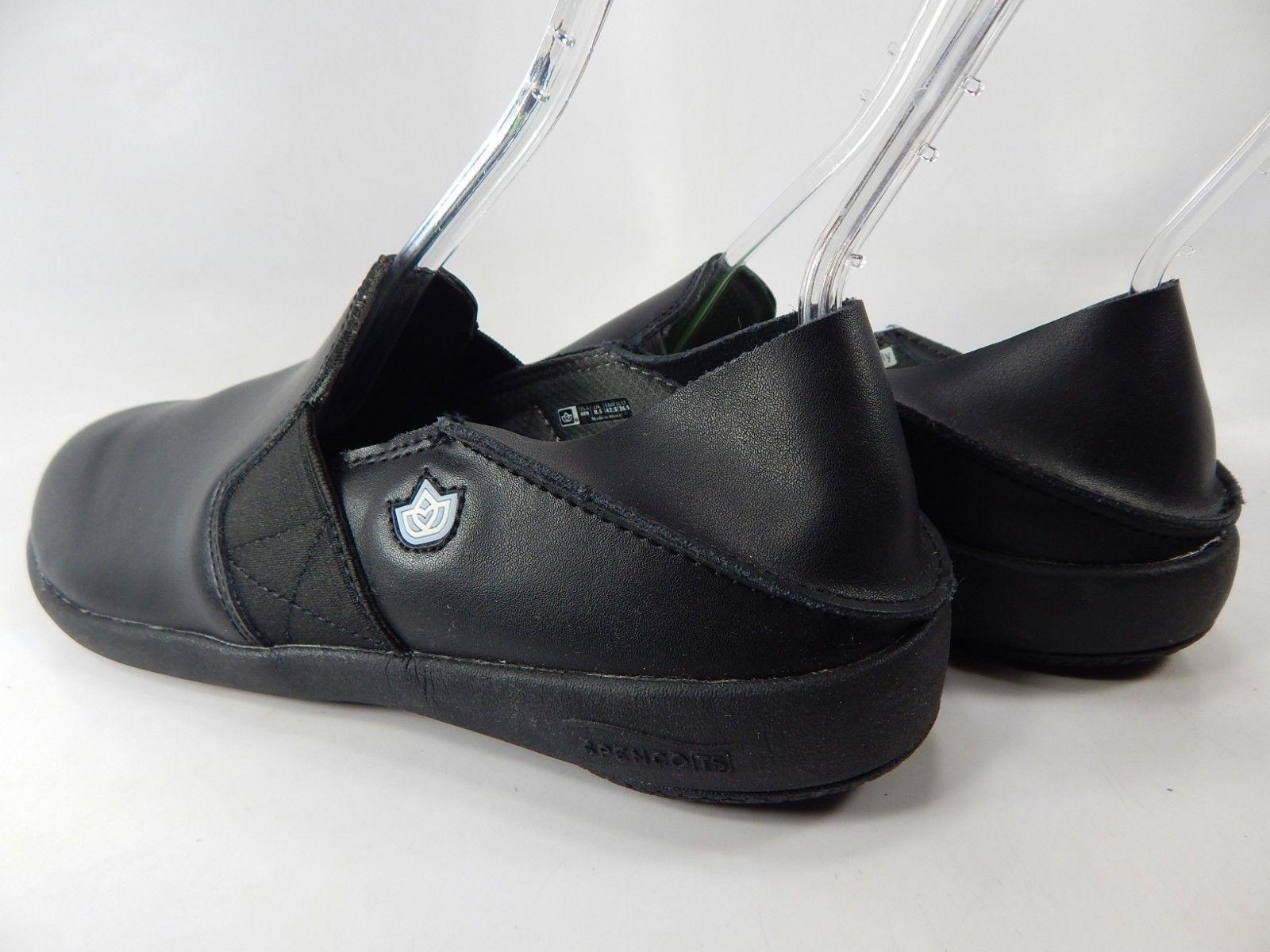 Spenco Quincy MD Conv Sz 9 M (D) EU 42.5 Men's Professional Slip On Shoes Black