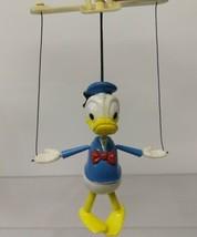 Vintage 1970's Donald Duck puppet, Marionette, Walt Disney Productions - $100.00