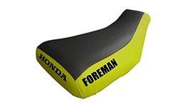 Honda Foreman TRX450 Seat Cover Black & Yellow Honda & Foreman Logo 1998... - $45.99