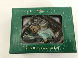 "Boyds Holiday ""JOY"" Resin Angel Ornament- #257420-  New- Retired - $29.99"