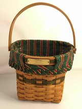 Longaberger Christmas Collection 1998 Edition Glad Tidings Basket Made I... - $39.59