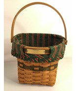Longaberger Christmas Collection 1998 Edition Glad Tidings Basket Made I... - $39.59