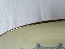 """Vintage LENOX Made In U.S.A. Special Plate motif 10""""1/2 Dia image 4"""