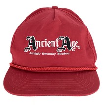 Ancient Age Straight Kentucky Bourbon Red Baseball Trucker Snapback Cap ...  -  27.55 bf1471386eb3