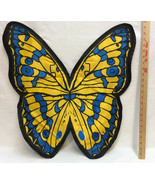 Butterfly Wings Halloween Costume Kids Teen Woman One Size Fits All Blac... - £9.31 GBP