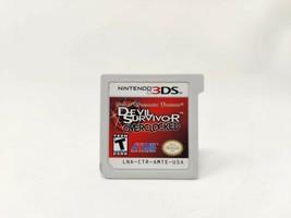 Shin Megami Tensei: Devil Survivor Overclocked (Nintendo 3DS, 2011) Auth... - $51.24