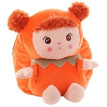 Lovely Mousse Dolls Toddler Backpack Infant Villus Knapsack Cute Baby Bag 1-3Y