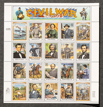 Civil war 32 stamps thumb200