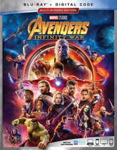 Marvel Studios Avengers: Infinity War (Blu-ray + Digital, 2018)
