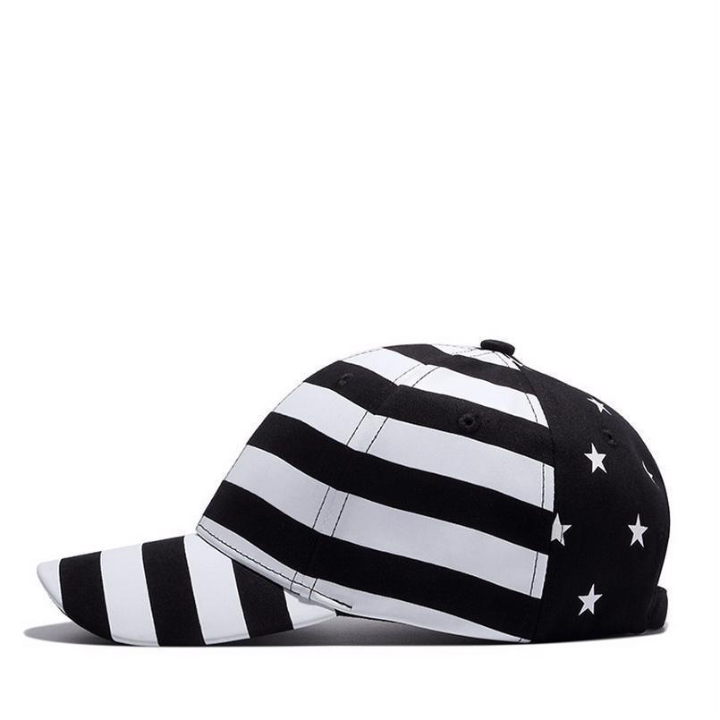 Stars And Stripes Baseball Cap 4th of July Hat Usa Flag American Men Snapback