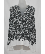 Women's Sleeveless Floral Lace-Print Blouse w/High-Low Hem by Alfani Pet... - $12.00