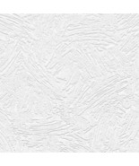 Eighties Swash Texture Paintable Wallpaper White Norwall Wallcovering 48906 - $34.64