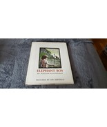 VINTAGE CHILDREN'S BOOK ELEPHANT BOY: A STORY OF STONE AGE BY WILLIAM KO... - $50.00