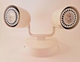 IKEA ÖSTANÅ Ceiling Lamp Spotlight with 2 Adjustable Spots Modern White - £21.29 GBP