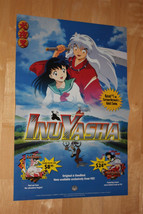 Inu Yasha US Release Promo Marketing Poster Viz Media Manga Anime 15 Inch - $11.64
