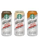 Starbucks Tripleshot Energy Coffee Beverage (3 Flavor Variety 12 Pack) - $34.64