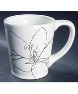 """Set of 4 Laurie Gates Anna Cups Mugs White 4"""" - $49.49"""