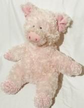 "Aurora Pink Plush Pig Stuffed Animal Soft Toy 14"" Floppy Soft Plush Stuffed Gift - $29.69"