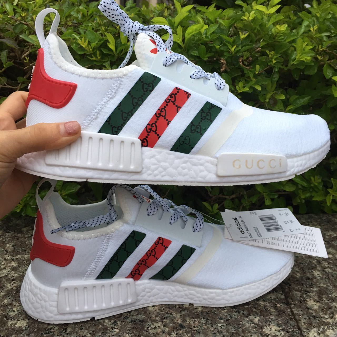 0aaebae23 womens adidas nmd gucci sneakers white color and 50 similar items. Ez5oj