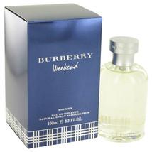 WEEKEND by Burberry Eau De Toilette Spray 3.4 oz for Men #402424 - $42.60